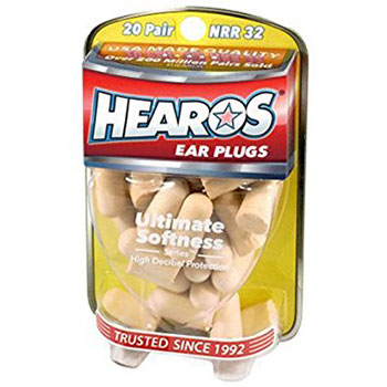 2-Hearos-Ultimate-Softness-Series-Foam-Earplugs,-20-Pair